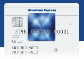 Carta Di Credito American Express Blu